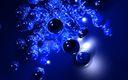 3D bulles bleus 1900x1200