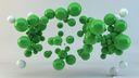 Spheres 3D vertes