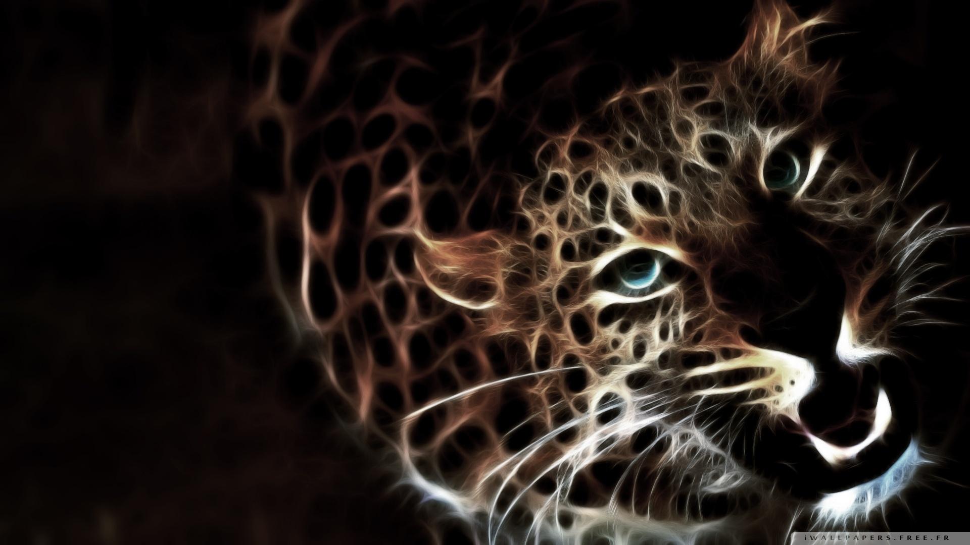 Leopard 3d fond ecran 10 000 fonds d 39 cran hd gratuits for Fond ecran free