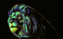 Simba fond ecran 3D