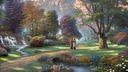 Jesus peint  par thomas kinkade 1920x1080