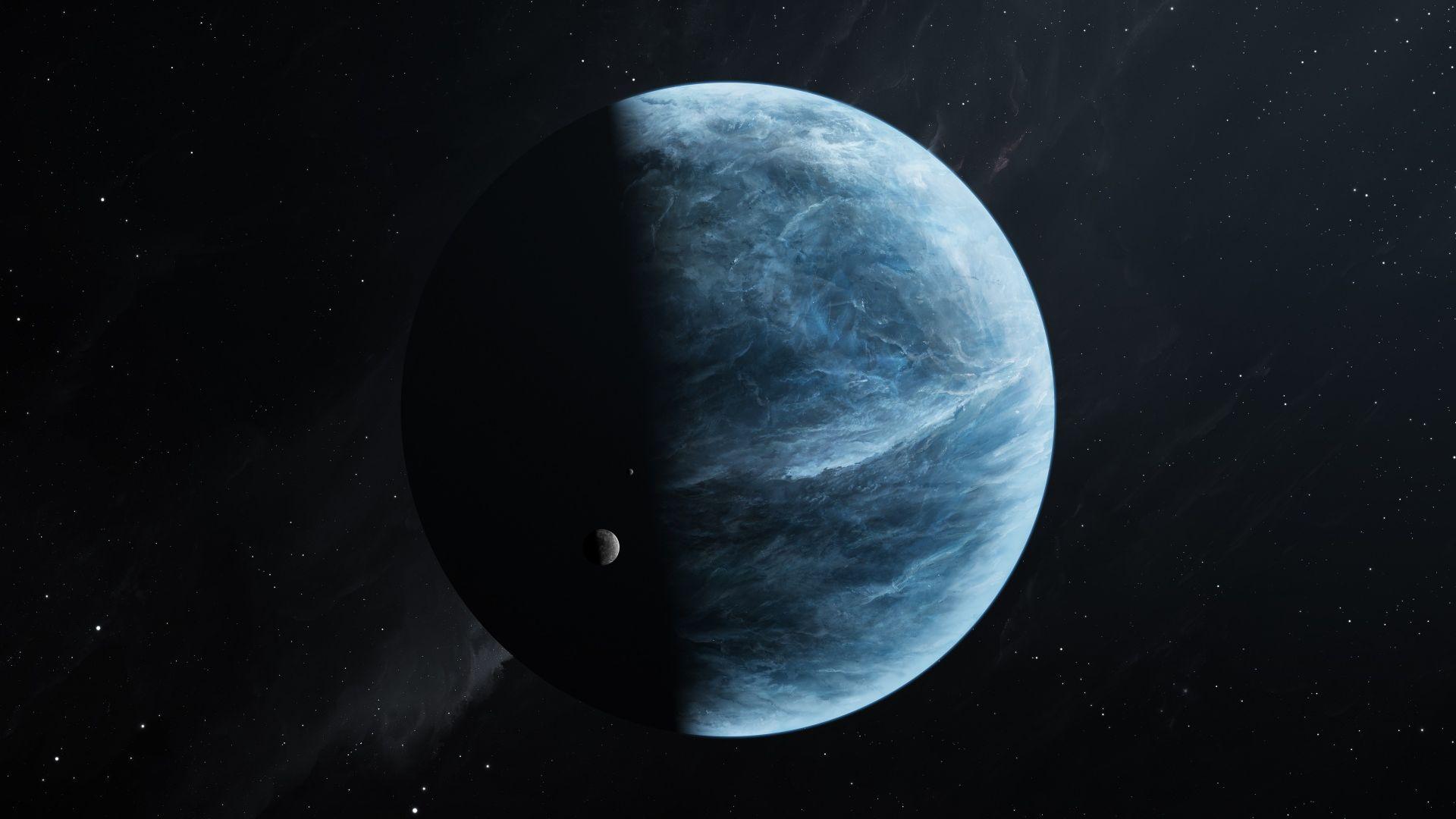 Ocean Terre Espace 1920x1080 10 000 Fonds D Ecran Hd