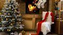 Maison du Ppère Noël - Fond écran HD
