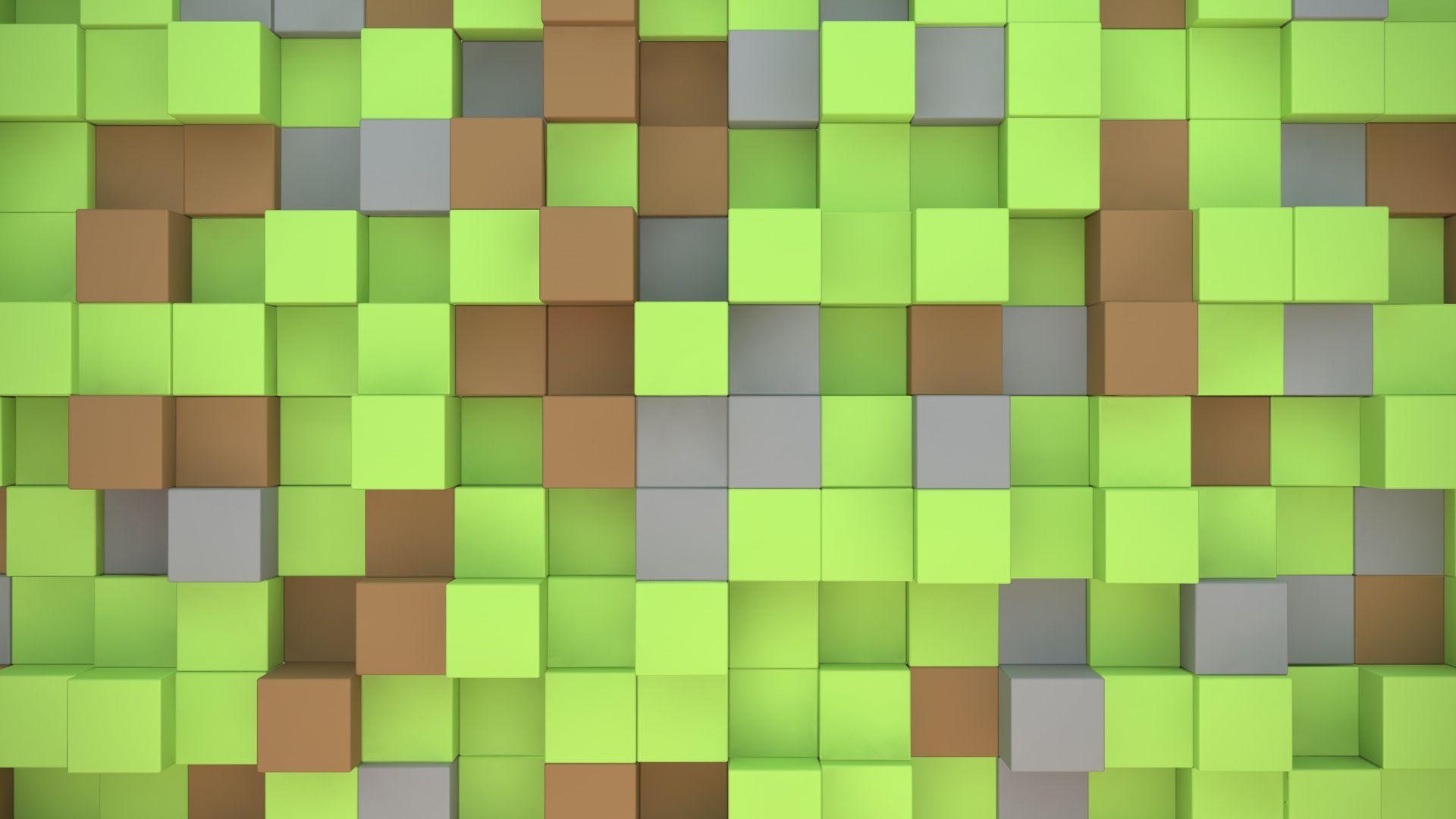 Minecraft Cubes Fond Ecran 10 000 Fonds Décran Hd
