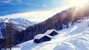Cabane dans les montagnes - Hiver