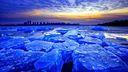Glace bleu - fond écran Paysage HD
