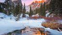 Nature froid - fond ecran
