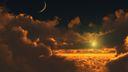 Au dessus des nuages - Fond ecran 3D