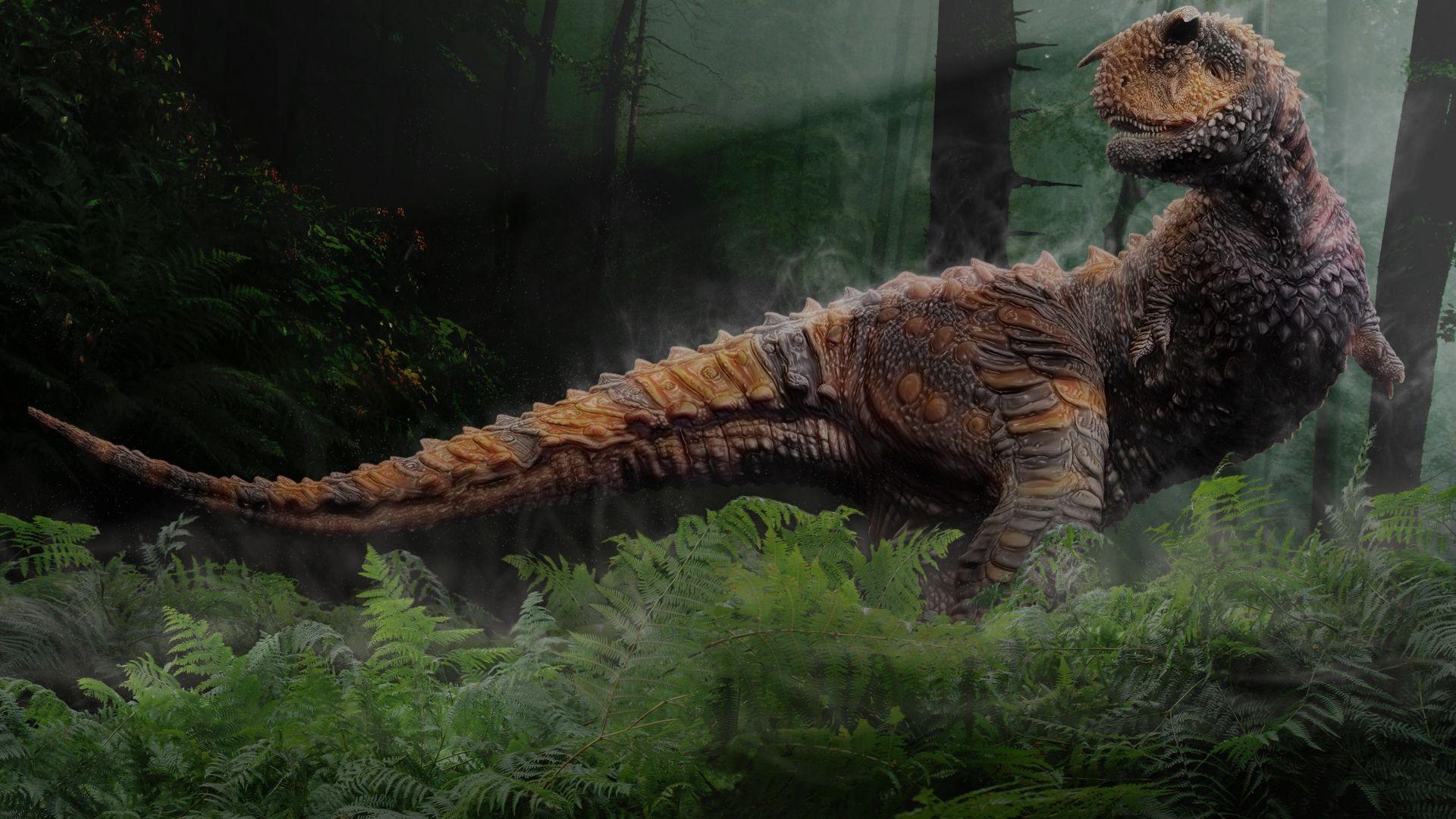 Carnotaurus Dinosaure 3d 10 000 Fonds Décran Hd Gratuits