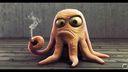Octopus pas content - 1920x1080