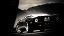 Ford GT Noire - fond ecran