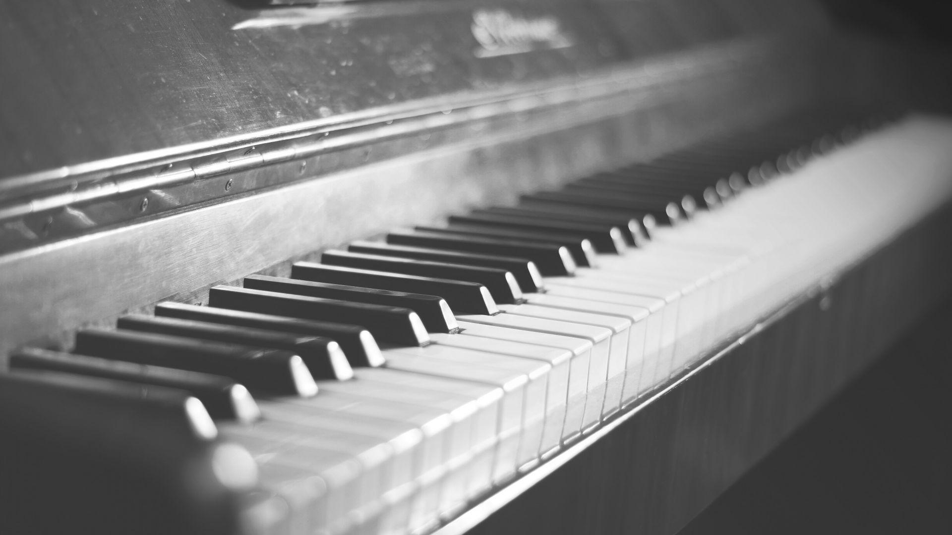 Connu Photo piano noir et blanc - 10 000 Fonds d'écran HD gratuits et de  IX82