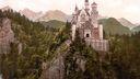 Neuschwanstein Chateau Baviere - 1920x1080