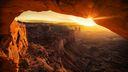 Canyon coucher de soleil